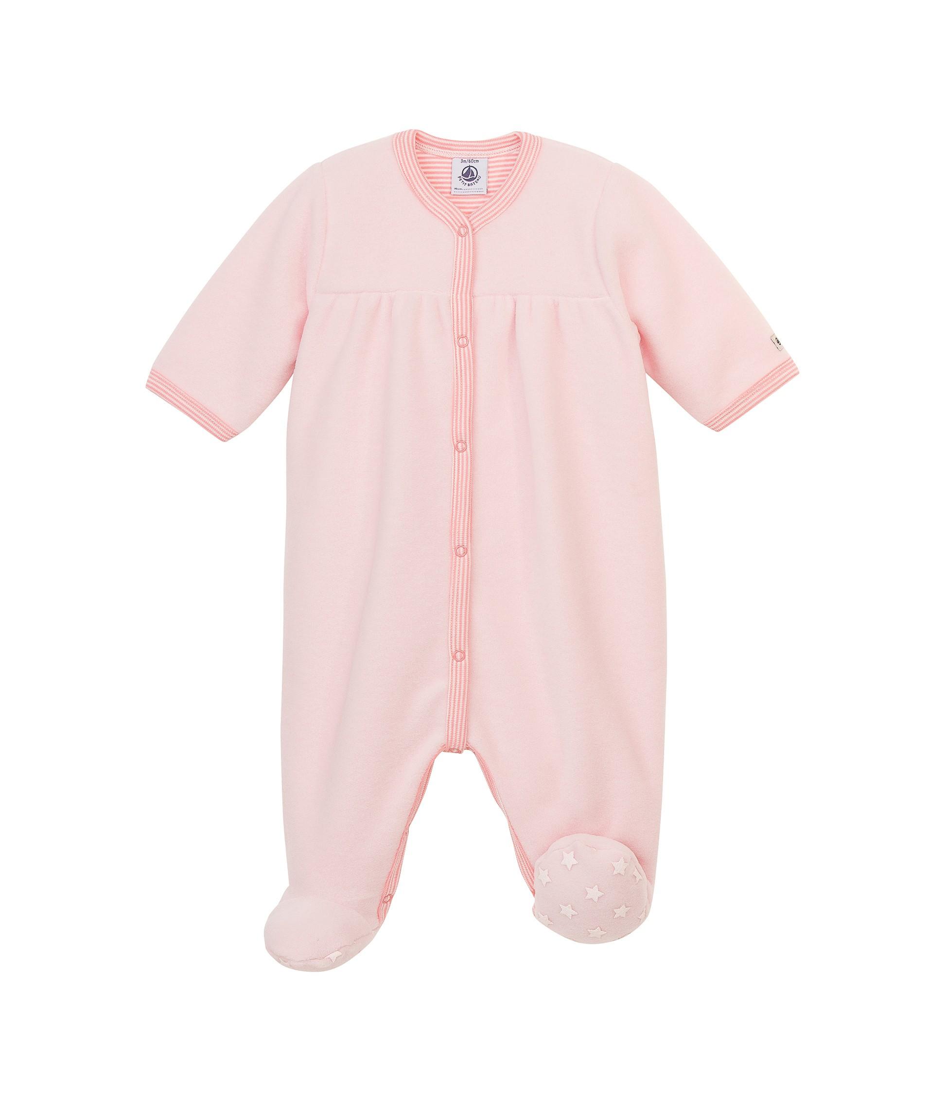 Φορμάκι ολόσωμο φλις για μωρό κορίτσι - petit-bateau.gr 30c53d1feff