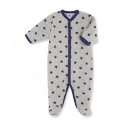Φορμάκι ολόσωμο φλις με σχέδιο για μωρό αγόρι