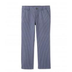 Παντελόνι βαμβακερό ριγέ για αγόρι