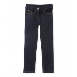 Παντελόνι τζιν σκούρο για κορίτσι
