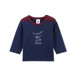Μπλούζα μακρυμάνικη με σχέδιο για μωρό αγόρι