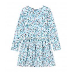 Φόρεμα μακρυμάνικο με σχέδιο