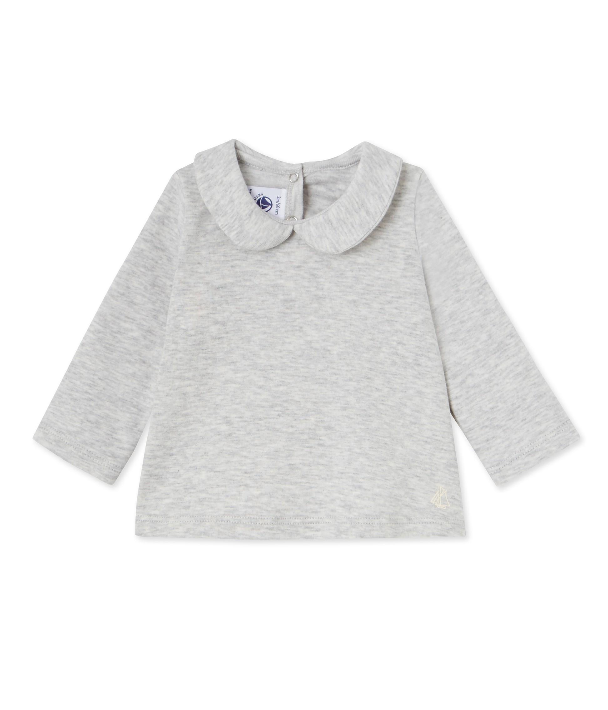 Baby girl s blouse with Peter Pan collar petit bateau