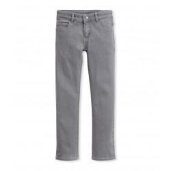 Girls' skinny pants in stretch denim