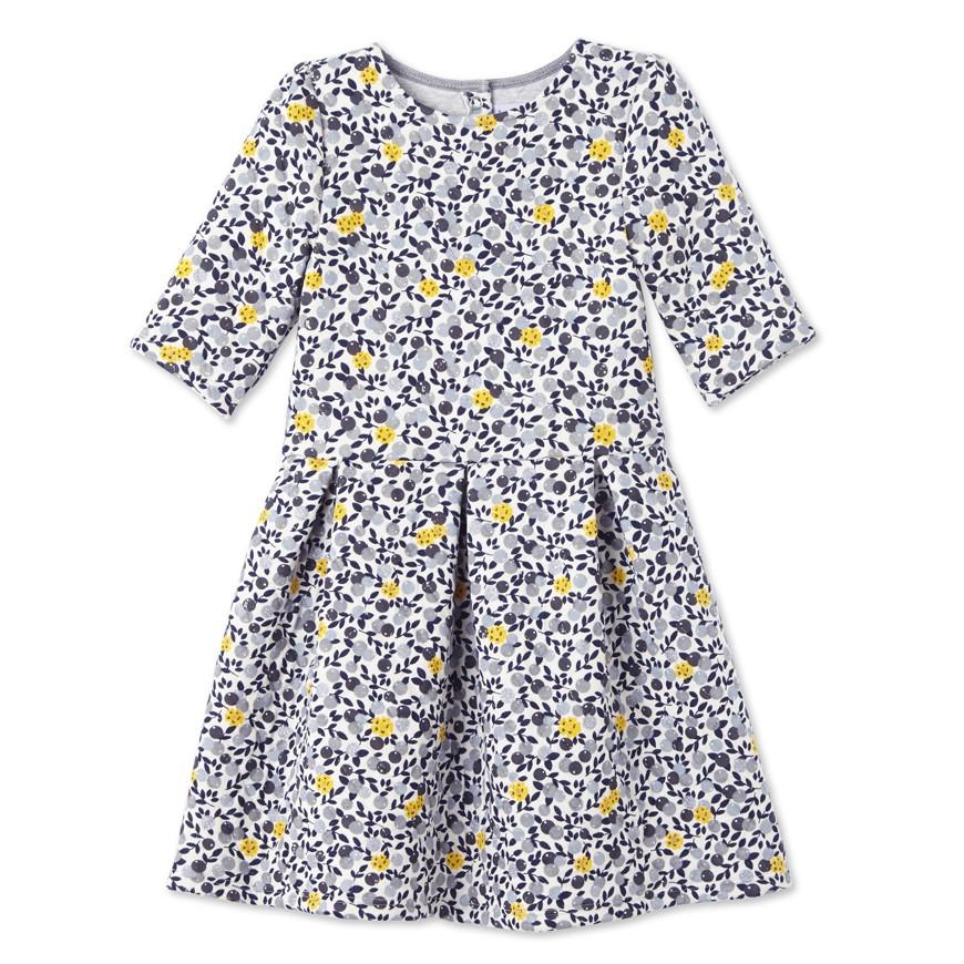 Φόρεμα με σχέδιο για κορίτσι - petit-bateau.gr 51407036e46
