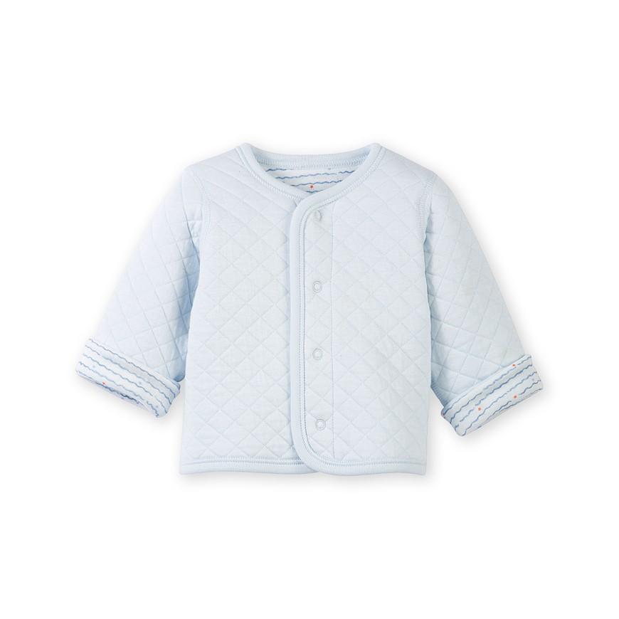 6262bd76827 Ζακέτα διπλής όψης για μωρό αγόρι - petit-bateau.gr