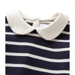 Μπλούζα μακρυμανικη ριγέ για μωρό κορίτσι