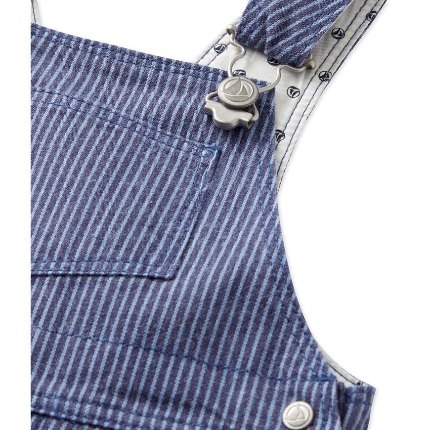 18a9a8d25f4e Baby boy s striped dungarees - petit-bateau.gr