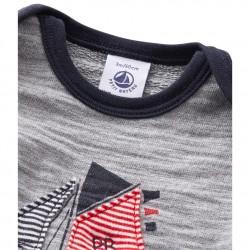 Baby boy's sweatshirt with motif