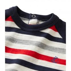 Μπλούζα ριγέ για μωρό αγόρι