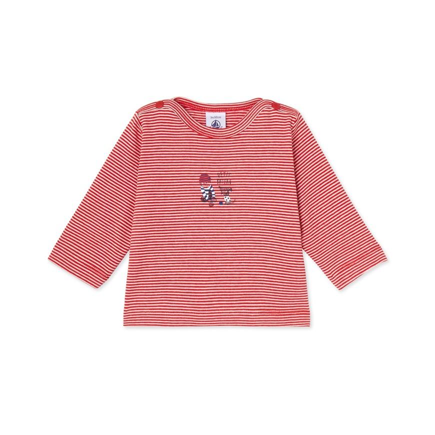 Baby boy 39 s milleraies striped t shirt petit for Petit bateau striped shirt