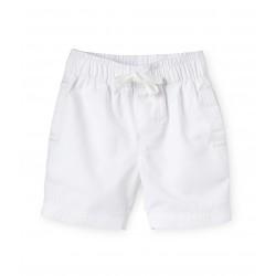 Twill boys' shorts