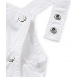 Σαλοπέτα κοντή βαμβακερή μονόχρωμη για μωρό αγόρι