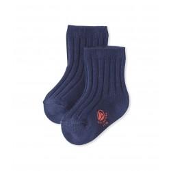 Κάλτσες μονόχρωμες για μωρό κορίτσι