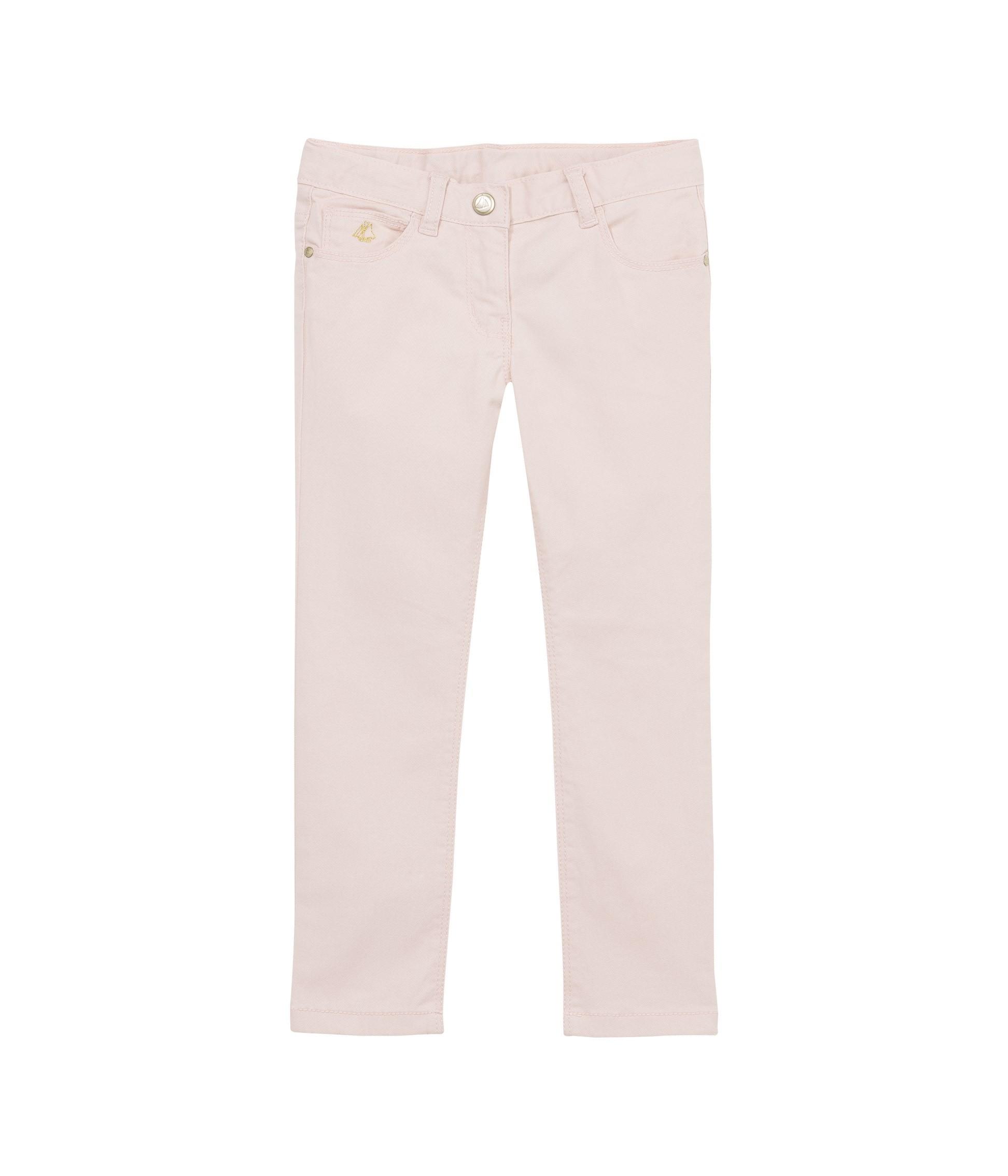 Παντελόνι καμπαρντίνα σε στενή γραμμή για κορίτσι - petit-bateau.gr 977ddb7a18d