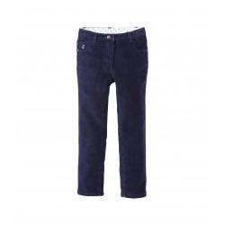Girl's slim stretch corduroy trousers