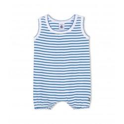 Baby girl striped cotton short shortie