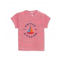 Μπλούζα κοντομάνικη με σχέδιο για μωρό αγόρι