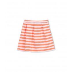 Girl's striped skirt