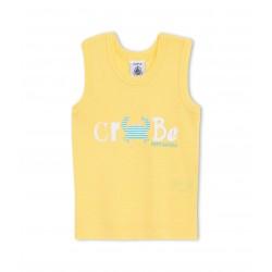 Μπλούζα αμάνικη με σχέδιο για μωρό αγόρι
