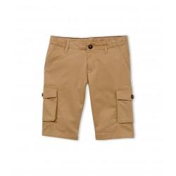 Boy's multi-pocket Bermuda shorts