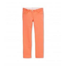 Girl's plain slim pants