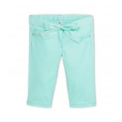 Girl's plain cropped pants