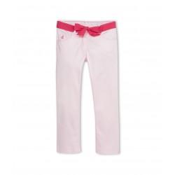 Girl's stretch satin pants