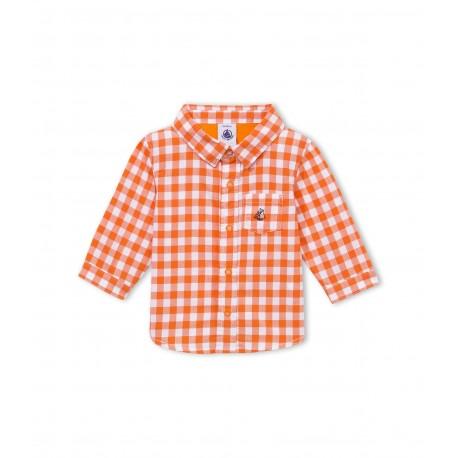 Baby boy gingham check shirt