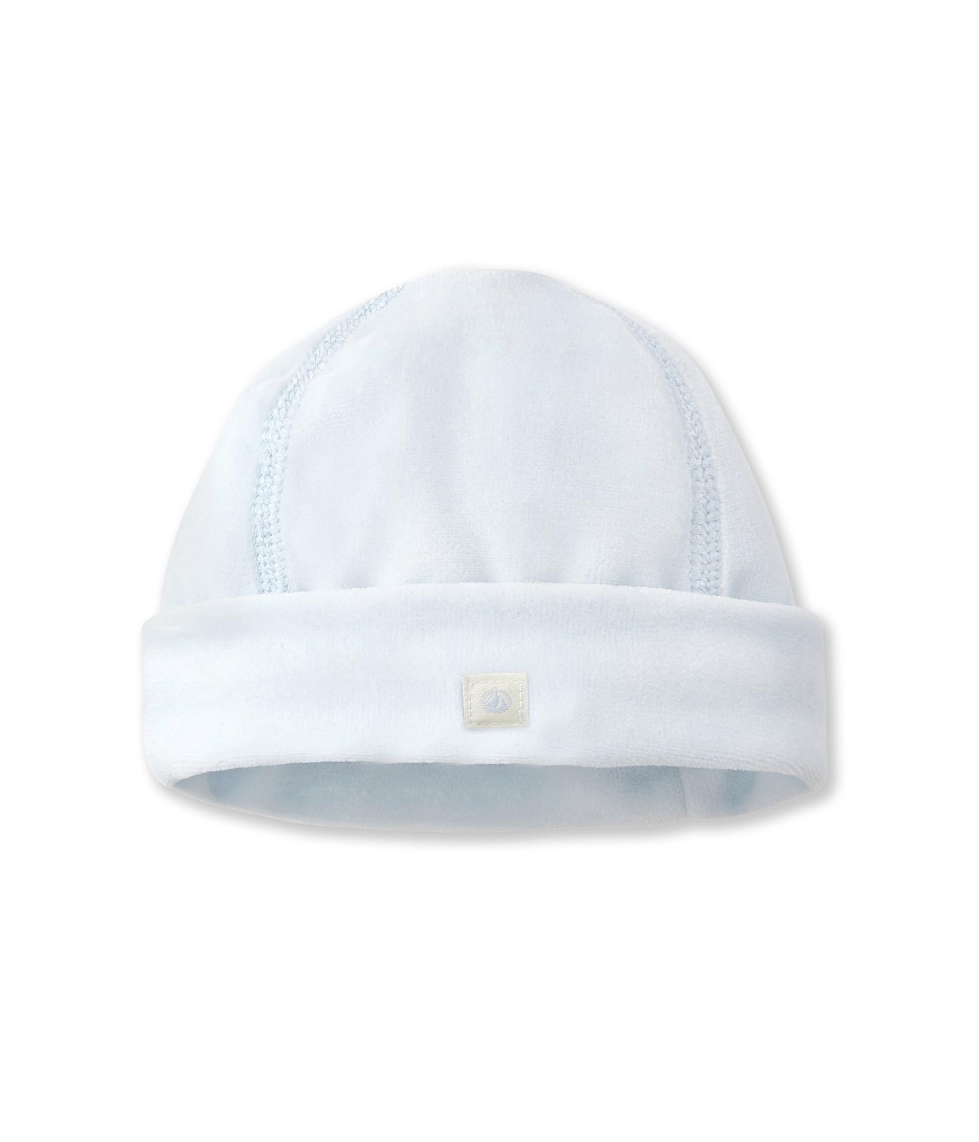 11a2ac3f2ca Plain velour newborn hat - petit-bateau.gr