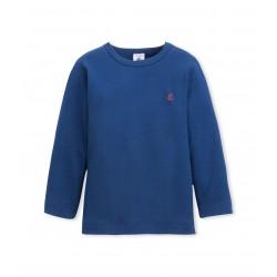 Boy's long-sleeved pyjama top t-shirt