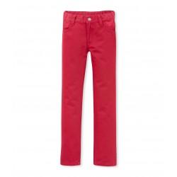 Boy's 5-pocket stretch serge trousers