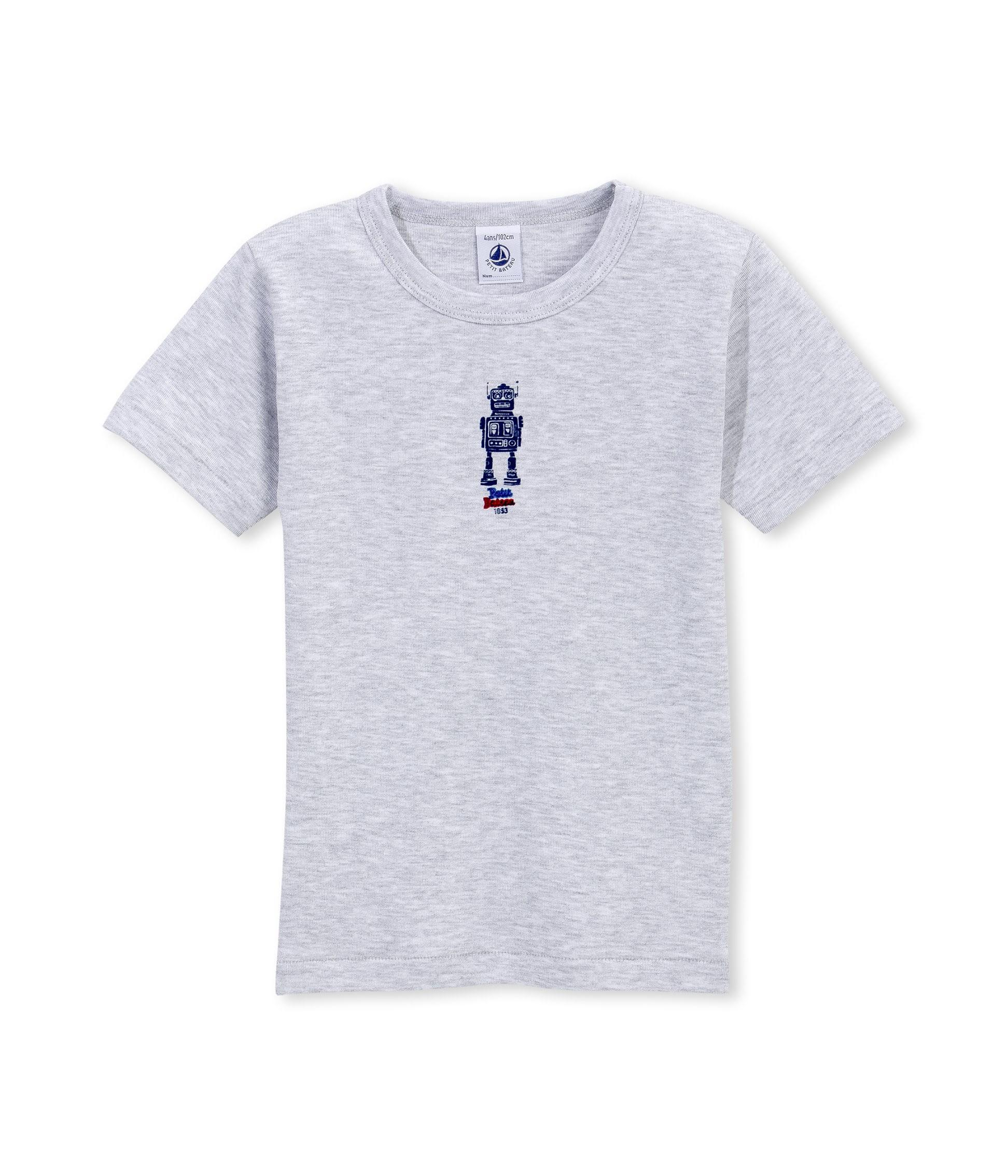 5d5fab023479 Boy s t-shirt vest with motif - petit-bateau.gr