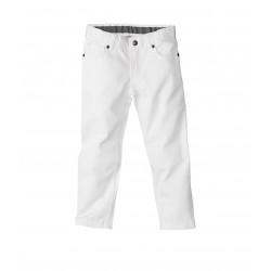 Boy's 5-pocket plain serge trousers