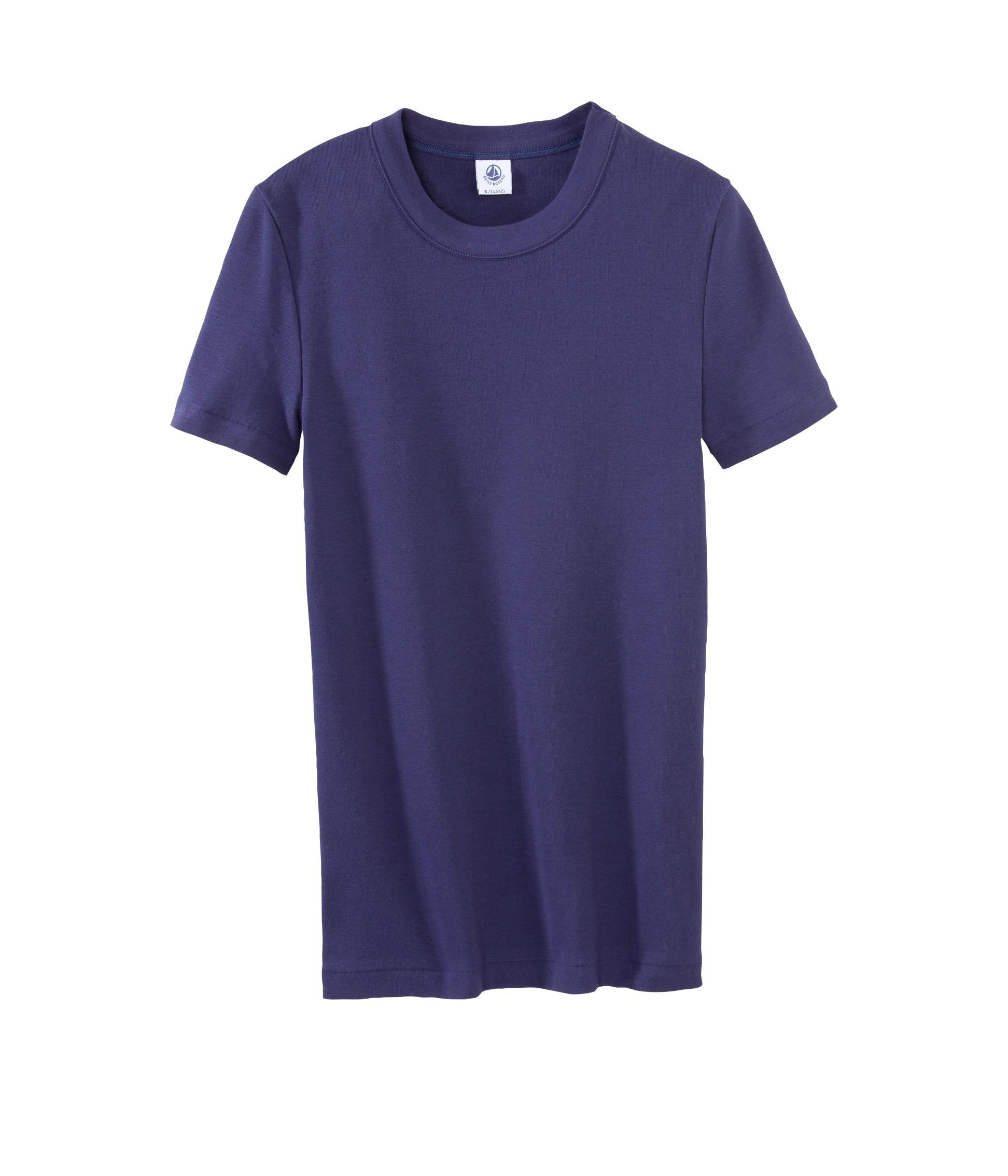 cc42301b4519 Women s short-sleeved T-shirt in plain vintage cotton - petit-bateau.gr