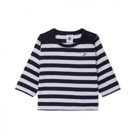 Baby Boys 39 Striped Long Sleeved T Shirt Petit