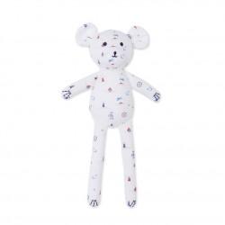 Baby printed teddy comforter