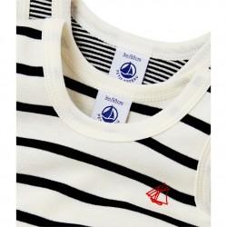 Pack of 2 baby boy sleeveless striped bodysuits
