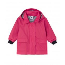 Baby girls' raincoat