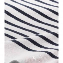 Μπλούζα μακρυμάνικη βαμβακερή ριγέ για κορίτσι