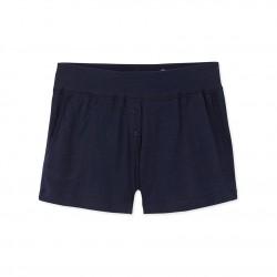 Women's light tube knit shorts