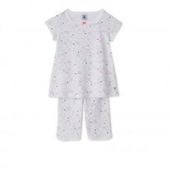 Girls' print short pyjamas
