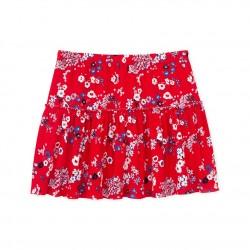 Girls' print skirt