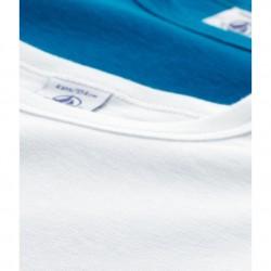 Σετ 2 μπλούζες κοντομάνικες βαμβακερές μονόχρωμες για αγόρι