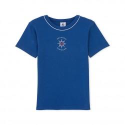Μπλούζα κοντομάνικη βαμβακερή με σχέδιο για αγόρι
