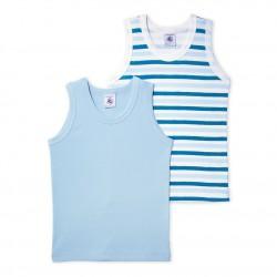 Pack of 2 boy's vest tops