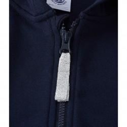 Girls' zippered sweatshirt