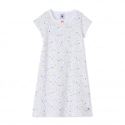 Girls' print nightdress