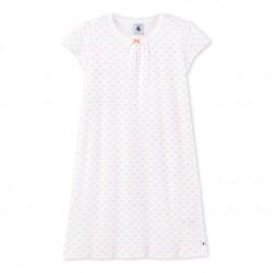 Girls' rose print nightdress
