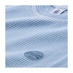 Boy's milleraies striped cotton pyjamas